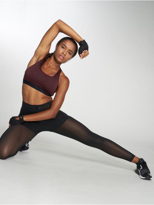 Nike Performance Športová podprsenka Classic Padded èervená