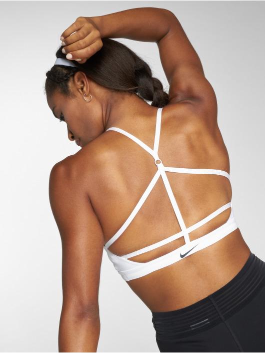 Nike Performance Športová podprsenka Indy Sports bílý