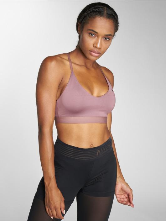 Nike Performance Športová podprsenka Indy Light fialový