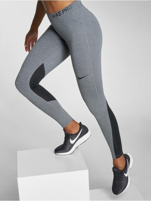 Nike Performance Леггинсы Pro Tights серый