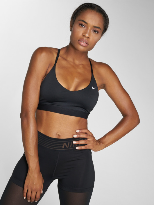 Nike Performance Спортивный бюстгальтер Indy Light Sports черный
