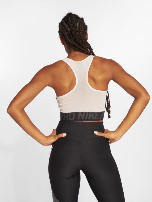 Nike Performance Топ Pro бежевый