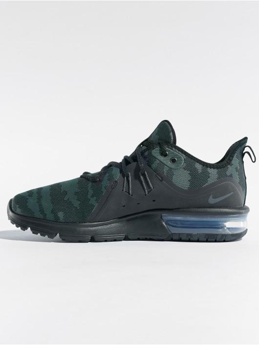Nike Air Max Sequent 3 Running Sneakers BlackDark Grey