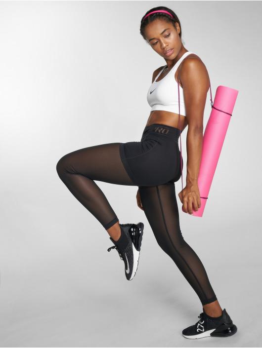 Nike Performance Biustonosz sportowy Swoosh bialy