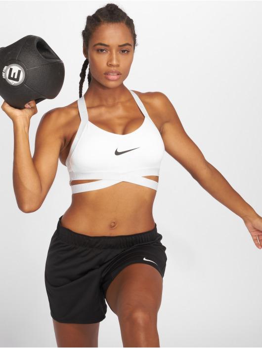 Nike Performance Biustonosz sportowy Indy bialy