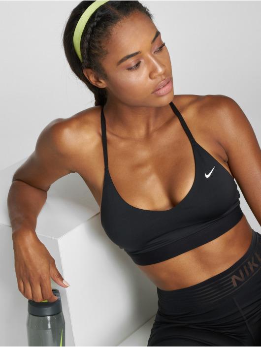 Nike Performance Biustonosz sportowy Indy Light Sports czarny
