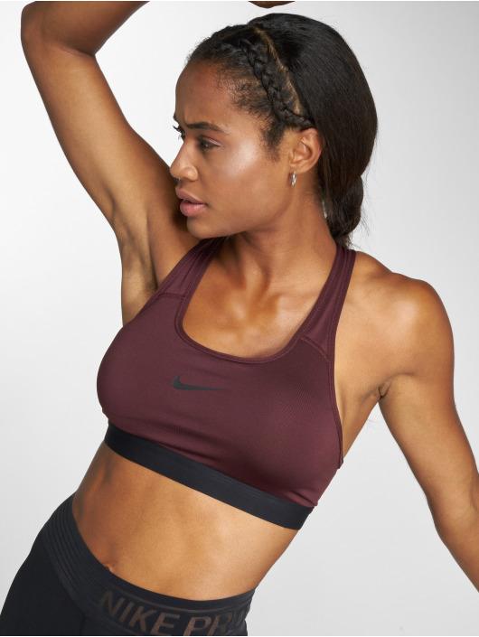 Nike Performance Biustonosz sportowy Classic Padded czerwony