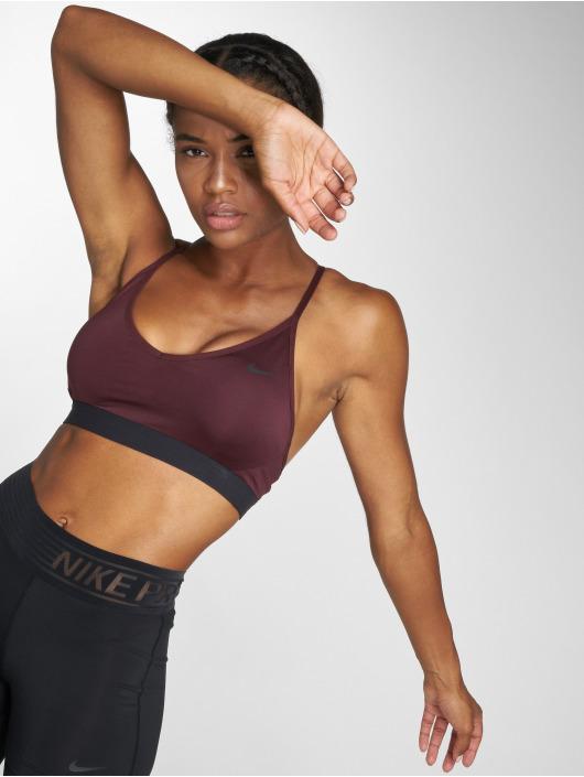Nike Performance Biustonosz sportowy Indy czerwony