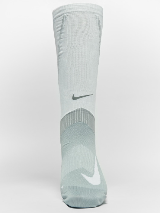 prix le plus bas c4e5c b7f35 Nike Performance Spark Compression Knee High Running Socks White/Wolf  Grey/White