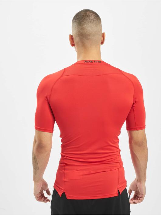 Nike Pro Compressions T Shirt University RedBlackBlack