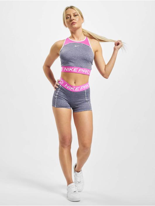 Nike Performance Hihattomat paidat Space Dye purpuranpunainen