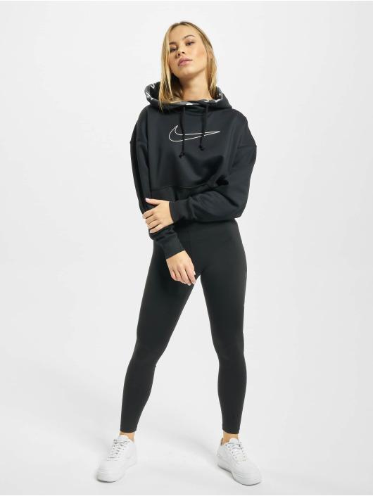 Nike Performance Hoodie W Nk Thrm All TM Crop black