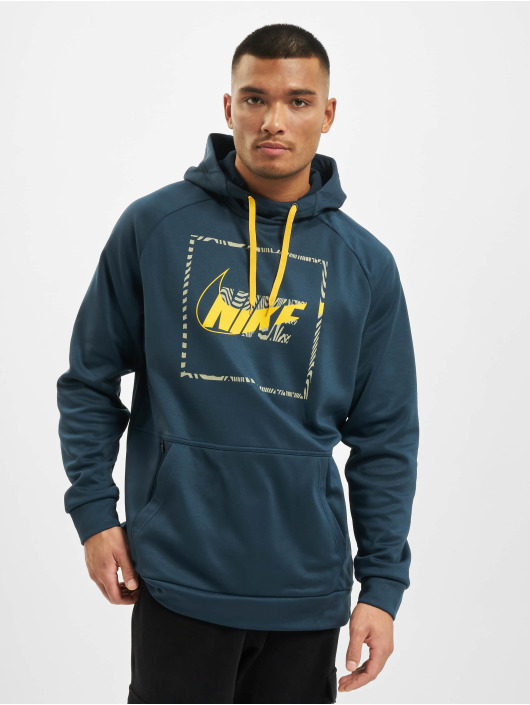 Nike Performance Hoodies Thrma Hd Po Px Cnct2 blå