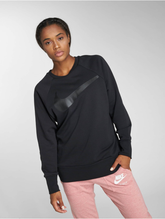 Nike Performance Jumper Performance Dry Swoosh black