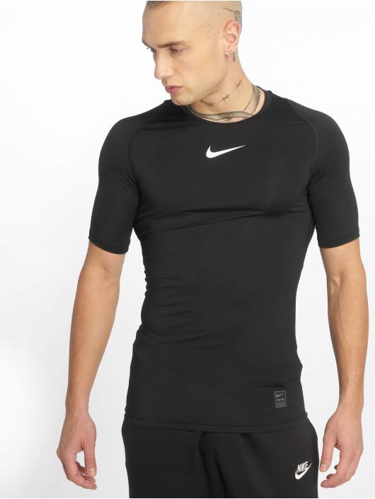 Nike Performance Kompressionsshirt Compressions èierna