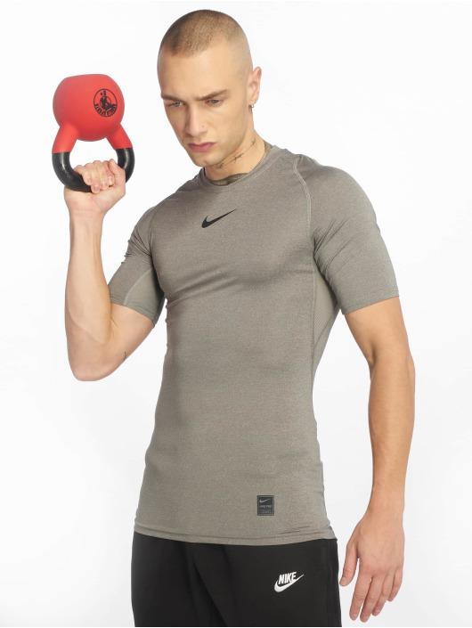 Nike Performance Kompressionsshirt Compressions grau
