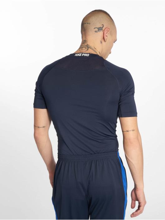 Nike Performance Kompressionsshirt Compressions niebieski