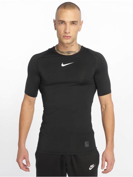 Nike Performance Kompressionsshirt Compressions schwarz