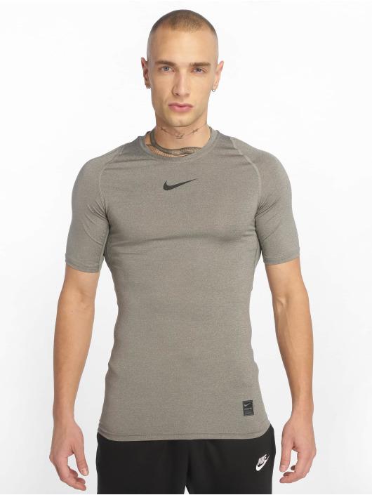 Nike Performance Kompressionsshirt Compressions szary