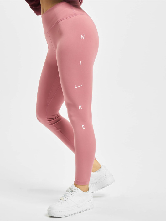 Nike Performance Legíny/Tregíny One 7/8 Length pink