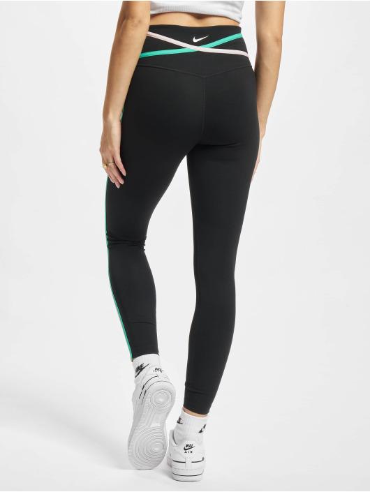Nike Performance Leggings/Treggings One 7/8 sort