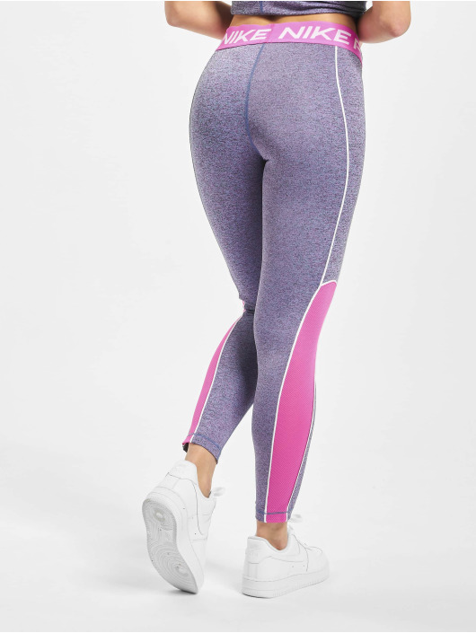 Nike Performance Leggingsit/Treggingsit Space Dye purpuranpunainen