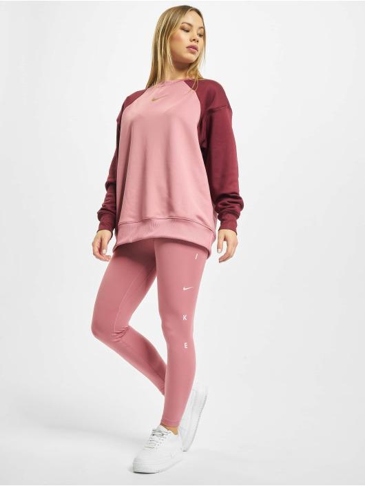 Nike Performance Leggingsit/Treggingsit One 7/8 Length vaaleanpunainen