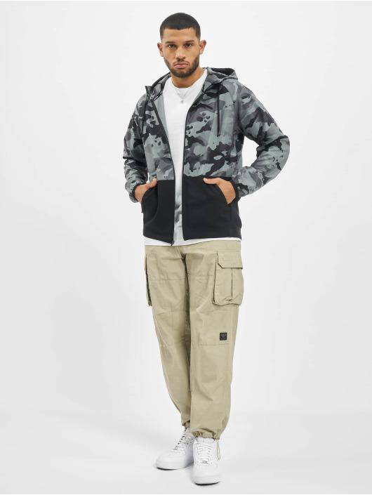 Nike Performance Lightweight Jacket Flex Vintage Mix Full Zip Camo black