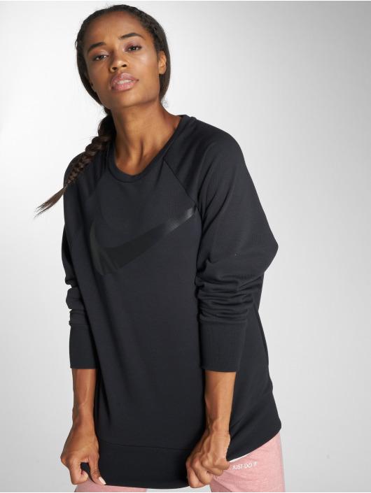 Nike Performance Pulóvre Performance Dry Swoosh èierna