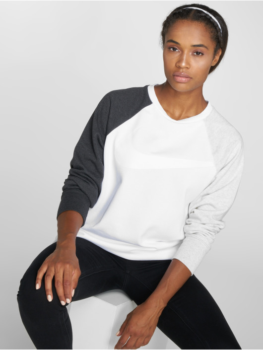 Nike Performance Pulóvre Dry Swoosh biela