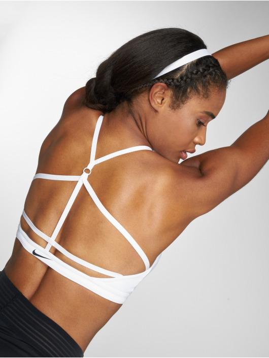Nike Performance Reggiseno sportivo Indy Sports bianco