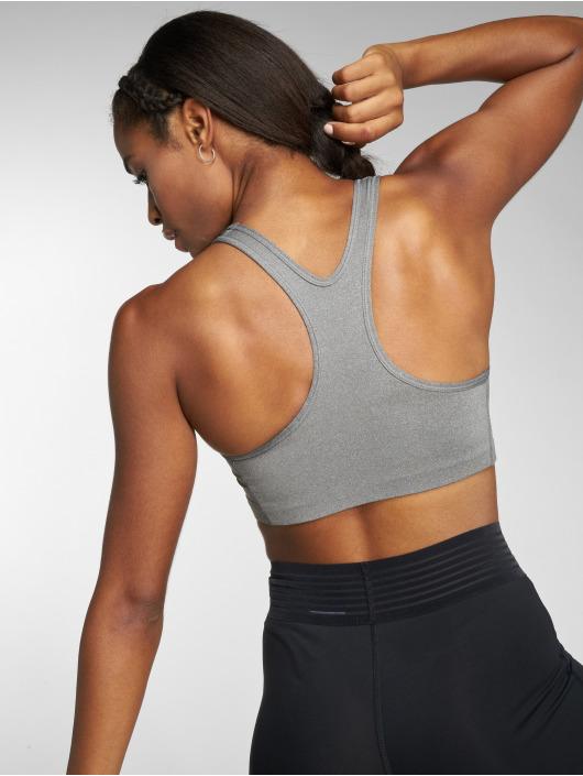Nike Performance Reggiseno sportivo Swoosh Futura grigio