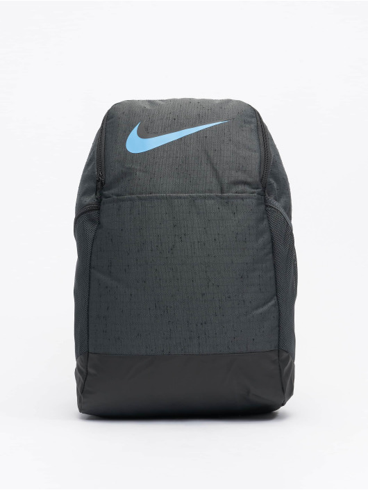 Nike Performance rugzak Nk Brsla M Bkpk-9.0 Mtrl Slub grijs
