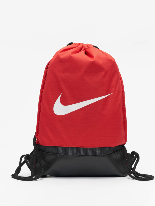 Nike Performance Sac à cordons Performance Brasilia Training rouge