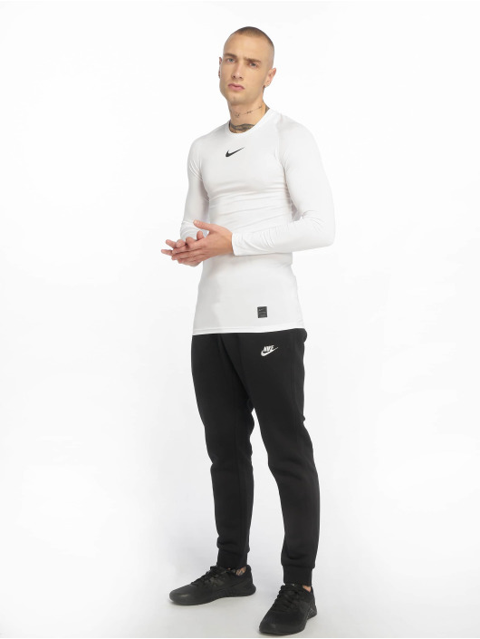 Nike Performance Shirts de Sport Fitted blanc