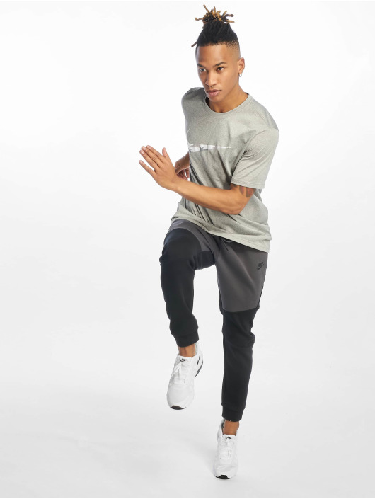 Nike Dry Legend T Shirt Dark Grey HeatherWhite