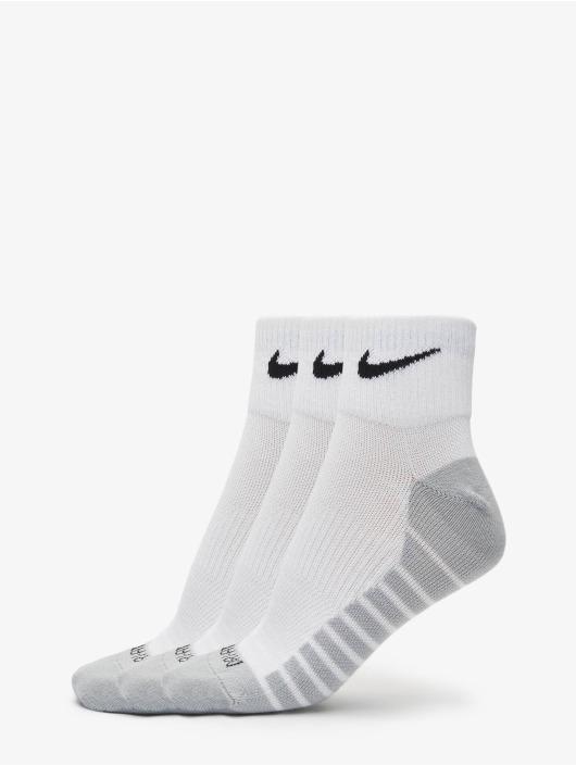 Nike Performance Sokker Lightweight Quarter hvit