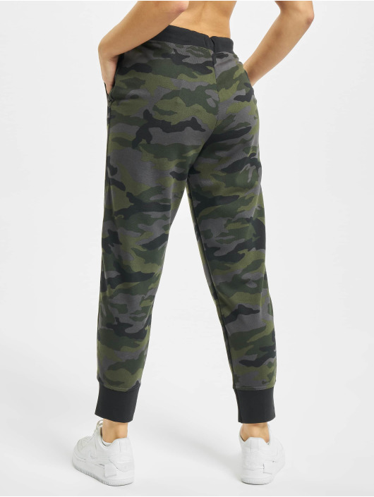 Nike Performance Spodnie do joggingu Dry Get Fit Fleece 7/8 Camo moro