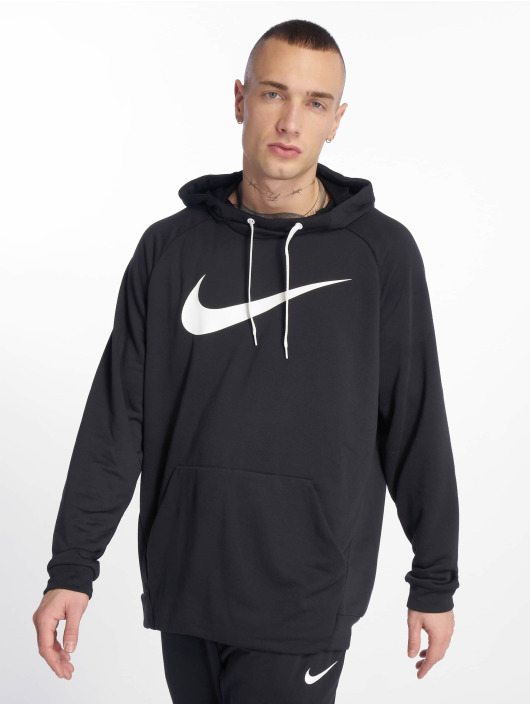 Nike Performance Sport Hoodies Dry Training czarny