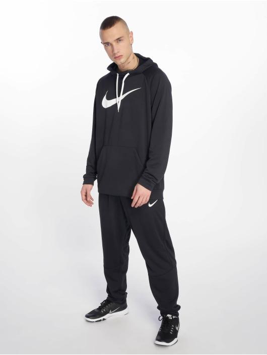 Nike Performance Sport Hoodies Dry Training schwarz
