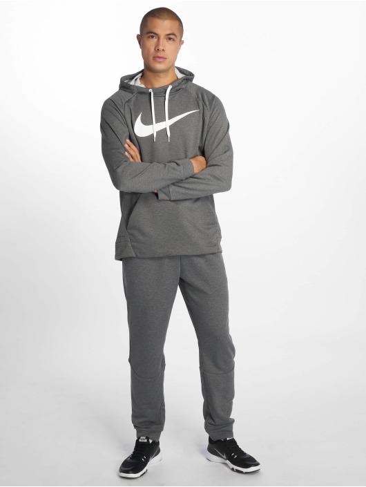 Nike Performance Sport Hoodies Dry Training szary