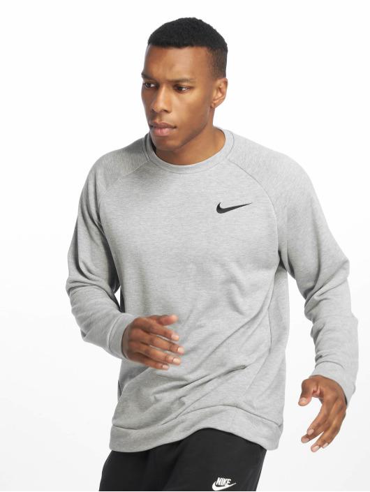 Nike Performance Sport Shirts Dry Fleece Crew grå