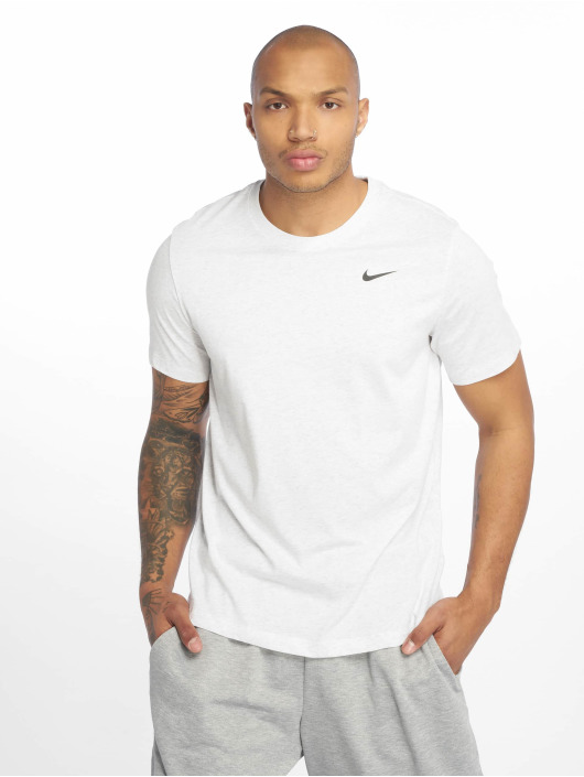 Nike Performance Sport Shirts Dry DFC Crew Solid white