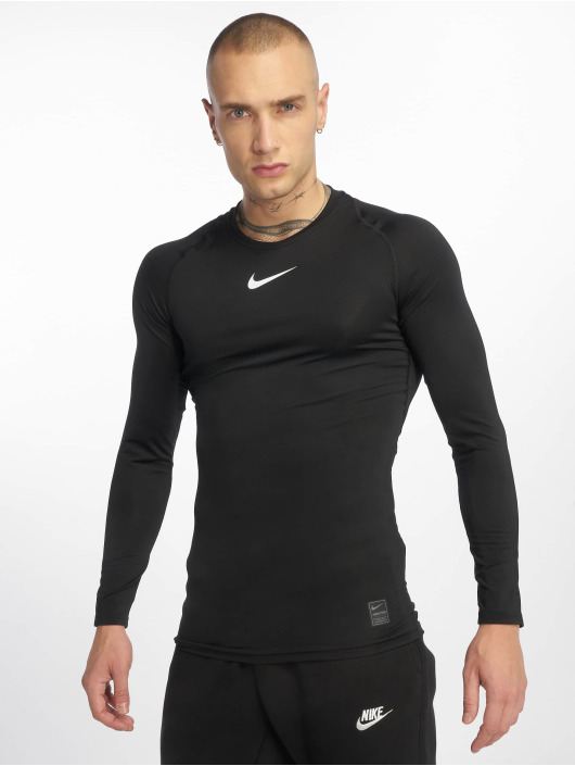 Nike Performance Sportshirts Fitted èierna
