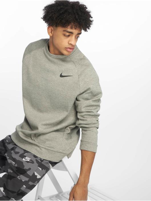 Nike Performance Sportshirts Therma šedá