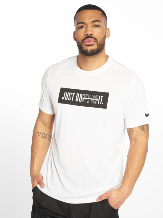 Nike Performance Sportshirts Dri-Fit bialy