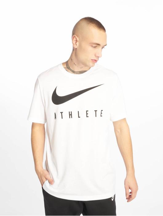 Nike Performance Sportshirts Dry DB Athlete bialy