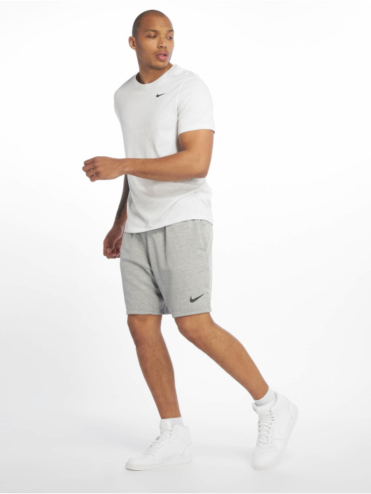 Nike Performance Sportshirts Dry DFC Crew Solid bialy
