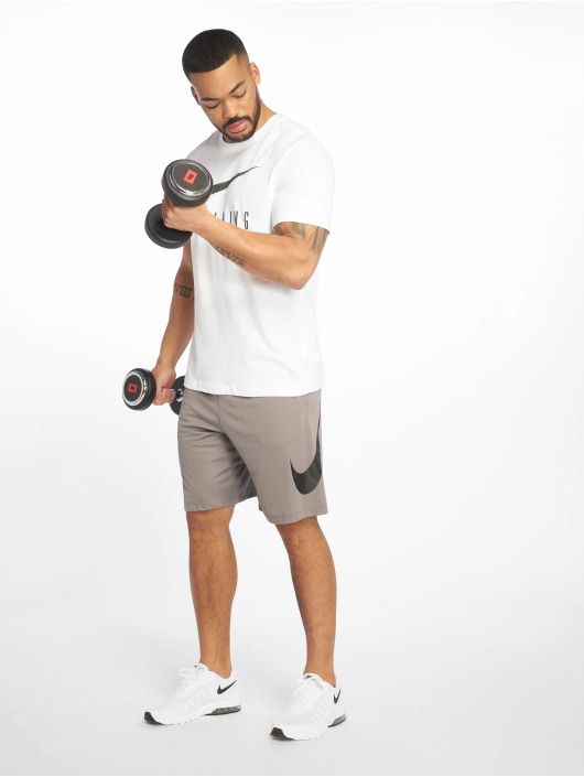 Nike Performance Sportshirts Dri-Fit Camo weiß