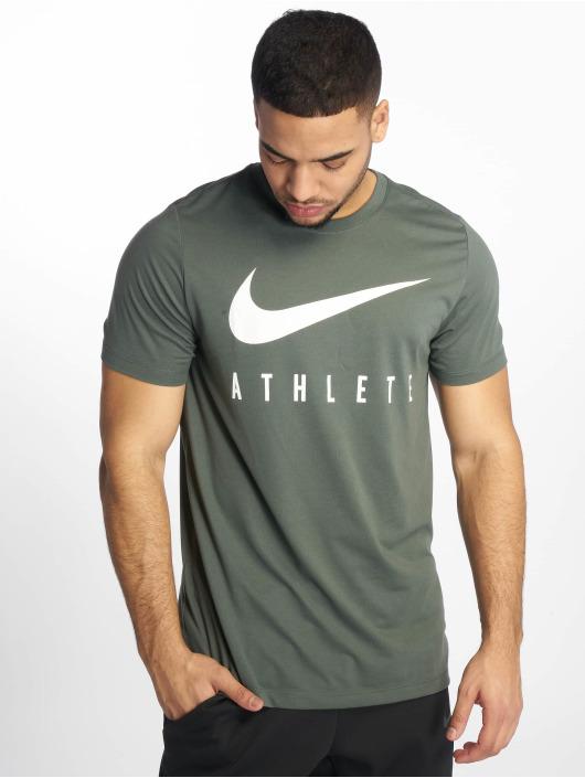Nike Performance Sportshirts Dry DB Athlete zielony